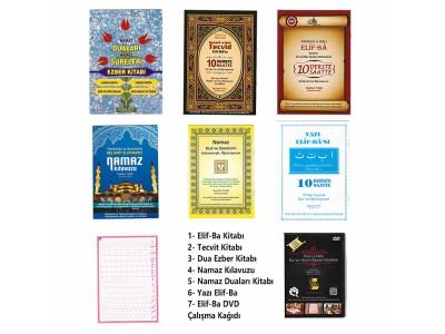 7'li Kitap Seti (6 Kitap 1 DVD)