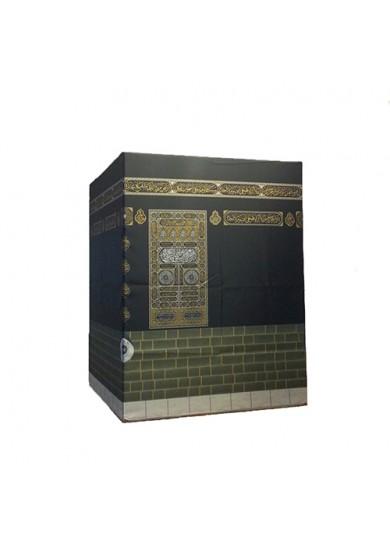 Metal İskeletli Kabe Maketi - Raşel Kumaş 120 X 150