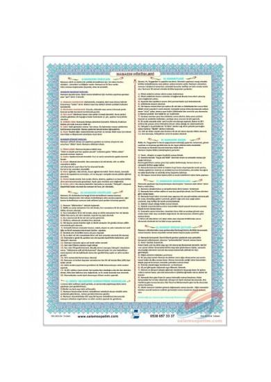 Namazın Hükümleri Posteri